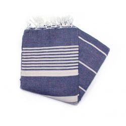 Fouta 2x3 m arthur bleu jean